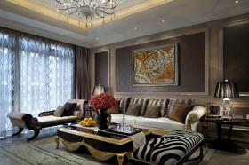新古典主义客厅家装设计效果图