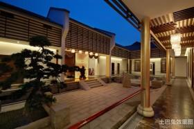 现代四合院别墅设计