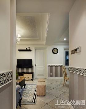 法式清新风格两室一厅装修