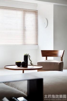 复古实木桌椅家具效果图