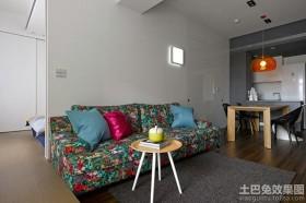 现代田园风格两室两厅装修