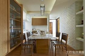 美式二居室餐厅特色装修效果图