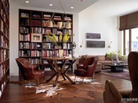 混搭书房装修效果图