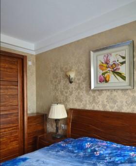 美式风格卧室装饰画图片