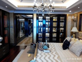 现代风格20平卧室装修效果图