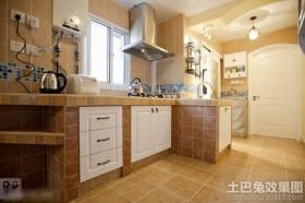 东南亚风格二居室厨房装修效果图