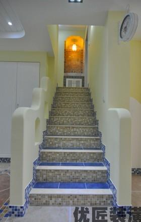地中海风格楼梯设计图
