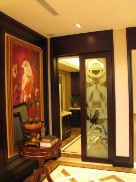 古典风格家装卫生间推拉门图片