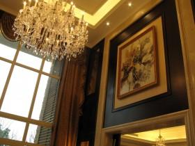 别墅客厅装饰画效果图