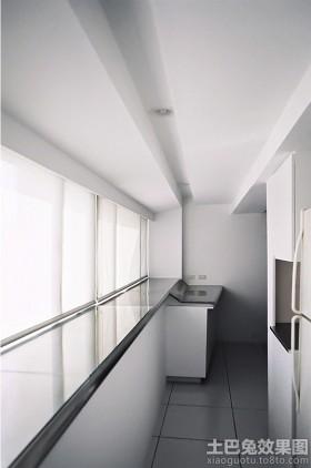 极简主义风格两室一厅过道装修效果图