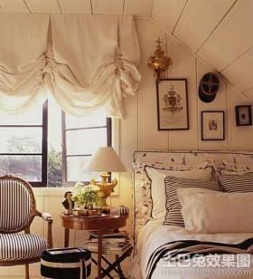 欧式风格阁楼阁楼卧室装修