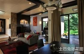 新古典风格两室一厅装修效果图片