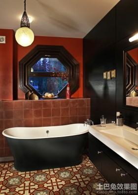 特色卫生间卫浴盆装修设计