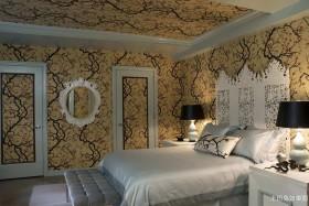 混搭风格80平米两室一厅装修效果图