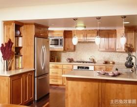 宜家风格厨房橱柜图片欣赏