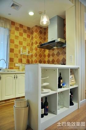 小户型家装厨房装修效果图