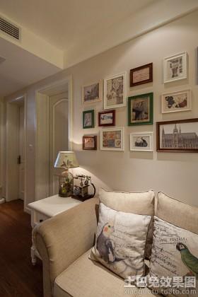 简约欧式50平米两室两厅装修图