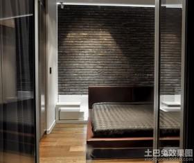 复古简约装修卧室装潢设计
