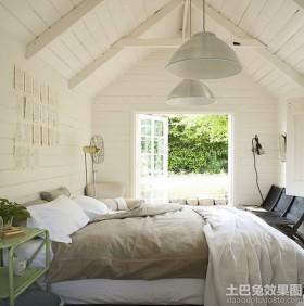 小阁楼卧室装修图片