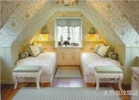 10平卧室阁楼装修效果图