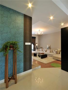 时尚现代简约风格两室两厅装修效果图欣赏