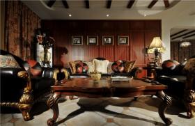 美式风格客厅茶几图片大全