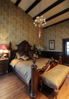 美式风格家装卧室设计效果图