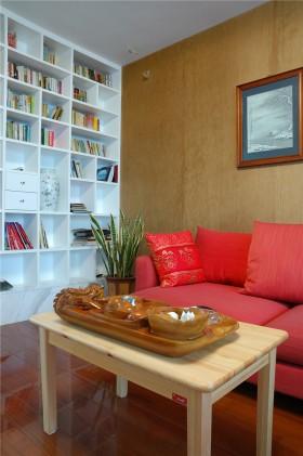 简约实木客厅茶几图片