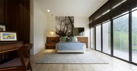 简约风格大户型卧室装修效果图欣赏