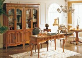 书房装修欧式古典家具图片