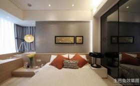 混搭风格家居卧室墙画装饰