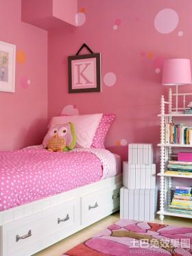 女生儿童房间设计实景图