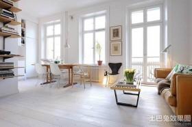 北欧风格公寓式住宅效果图