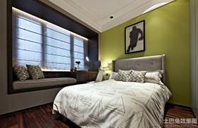 新古典风格三室两厅卧室装修效果图片大全