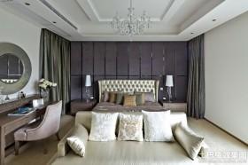 混搭风格两室两厅主卧室装修效果图
