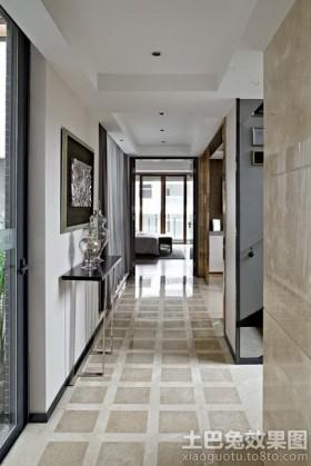 混搭风格两室两厅玄关国道装修效果图