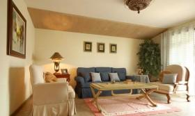30平米美式风格客厅装修效果图