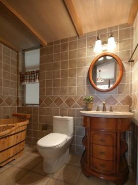 美式风格卫生间美式风格卫生间装修图片