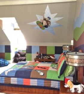 家庭卧室阁楼装修效果图