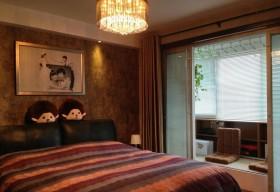 现代家装婚房卧室装修效果图