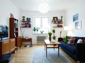 北欧风格小客厅装修效果图片大全
