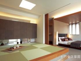 日式卧室榻榻米装修效果图欣赏