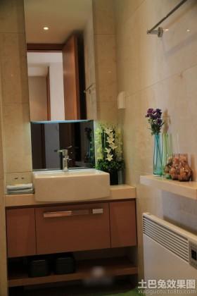 现代简约风格洗手台图片