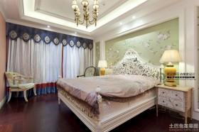 混搭风格装修卧室效果图片