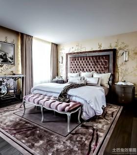 新古典风格两居室卧室装修图