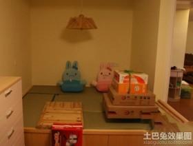 儿童房榻榻米设计图片