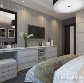 现代风格卧室梳妆台设计图