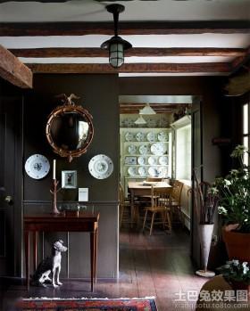 家居装修室内玄关设计