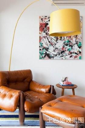简约风格小户型客厅灯具图片