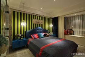 混搭风格两室两厅装修效果图片